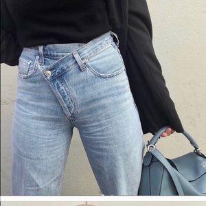 Agolde Asymmetrical Jeans